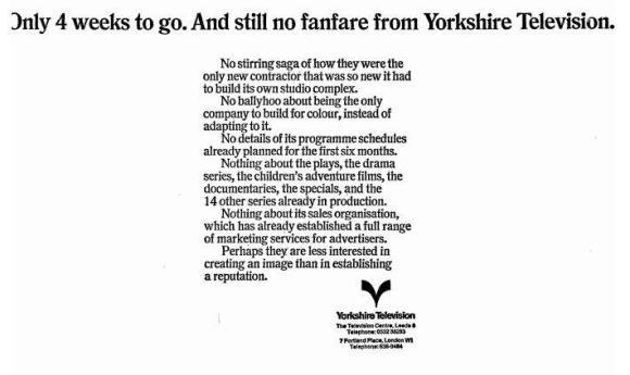 Yorkshire TV Launch
