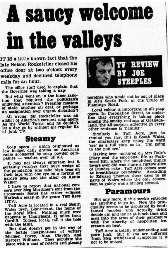 Daily Mail 21 November 1981